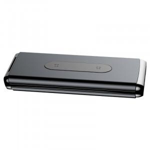 Powerbank cu incarcare wireless Qi Baseus 10000mAh (negru)