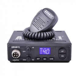 Statie radio CB Avanti Alpha (versiunea PRO)