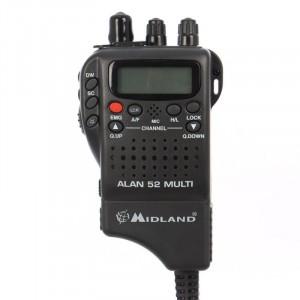 Statie Radio CB Midland Alan 52 Multi *PRO-Version*