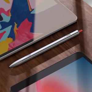 Stylus / pen Baseus Square Line, pt Apple iPad (gri)