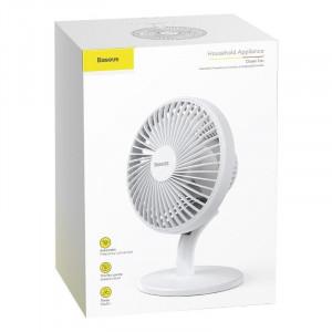 Ventilator de birou Baseus Ocean (alb)