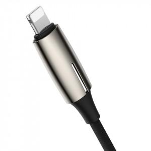 Adaptor Audio Baseus Lightning la 2x Lightning (argintiu)