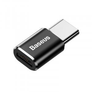 Adaptor Baseus Micro USB la USB Type-C - negru
