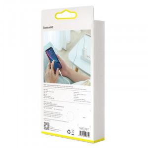 Cablu USB-C - Lightning PD Baseus Mini, 18W, 1m (alb)