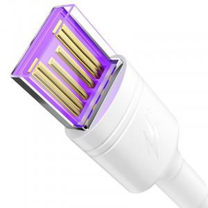 Cablu USB la USB-C Baseus Double Ring pt Huawei SuperCharge 5A 1m