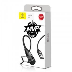 Cablu USB Type-C 90 grade Baseus MVP Elbow 2A 1m - negru