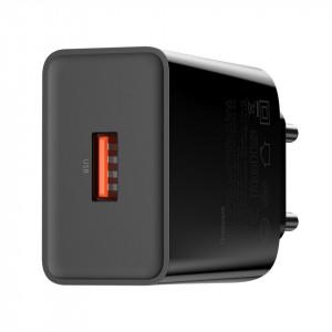 Incarcator rapid Baseus Speed Mini, PD+QC 3.0 18W (negru)
