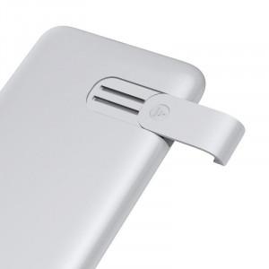 Powerbank Baseus S10 cu incarcare wireless, 10000mAh, 18W, USB (alb)