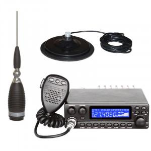 Promotie statie radio CB Avanti Kappa + antena Sirio Megawatt 4000 + baza magnetica 170 PL