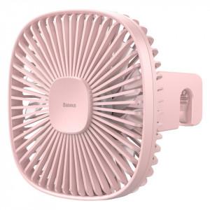 Ventilator auto Baseus Natural Wind pt tetiera, magnetic (roz)