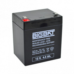 Acumulator BIG BAT 12V, 4.5 AH