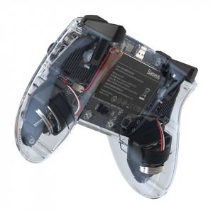 Controller wireless Baseus GAMO cu Bluetooth (transparent)