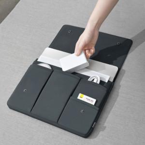 Husa Baseus Basics de laptop pana la 16'' (grafit)