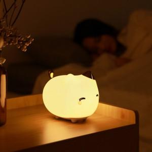 Lampa de veghe Baseus Cute Series in forma de pisica (alb)