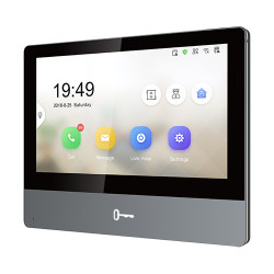 Monitor videointerfon TCP/IP Wireless, Touch Screen IPS-TFT LCD 7inch