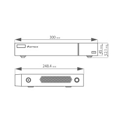 NVR 8 canale IP