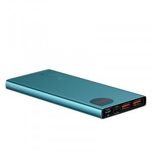 Powerbank Baseus Adaman, 10000mAh, metal, QC 3.0, PD, Huawei SCP, 22,5W (verde)