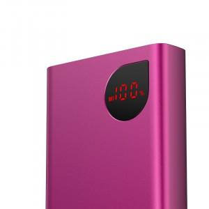 Powerbank Baseus Adaman, 20000mAh, metal, QC 3.0, PD, Huawei SCP, 22,5W (rosu)
