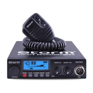 Promotie statie radio CB Storm Matrix + antena CB Avanti Nova + baza magnetica 145 DV