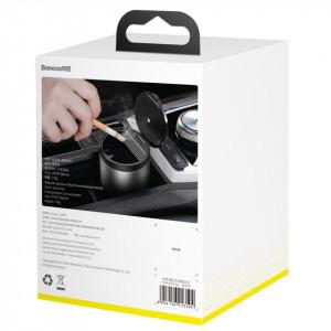 Scrumiera auto Baseus Car Ashtray cu LED (gri)