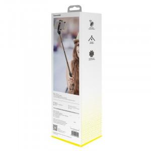 Selfie stick Bluetooth Baseus Lovely cu functie de trepied si Bluetooth (negru)