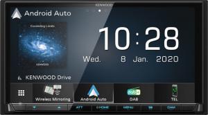 Sistem multimedia 2 DIN fara CD Kenwood DMX8020DABS