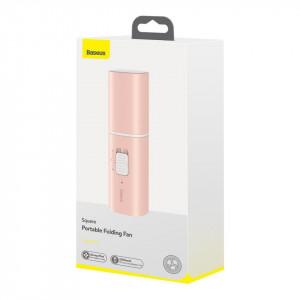 Ventilator portabil Baseus Square (roz)