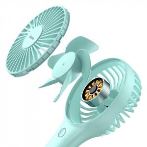 Ventilator portabil si de birou Baseus Bingo (albastru)