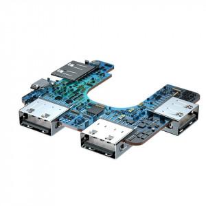 Adaptor 4in1 Baseus Fully Folded, HUB USB-C la 4x USB 2.0