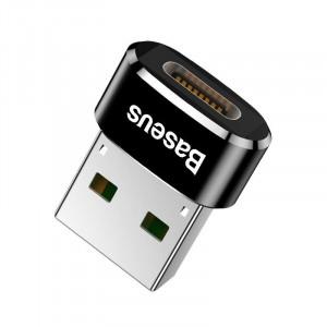 Adaptor USB-C la USB-A Baseus 5A (negru)