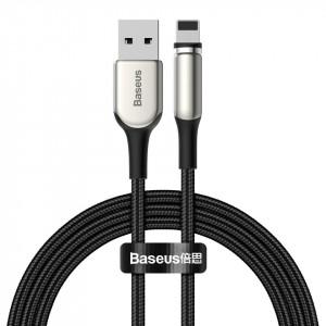Cablu magnetic Lightning Baseus Zinc 1.5A 2m (negru)