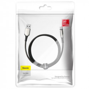 Cablu magnetic USB-C Baseus Zinc 2A 1m (negru)