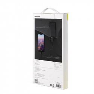 Cablu USB-C Baseus Artistic QC 3.0 5m 3A (negru)