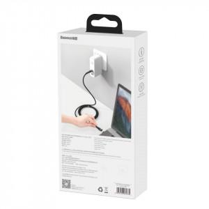Cablu USB-C la USB-C, magnetic Baseus Zinc 100W 1.5m (negru)