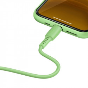 Cablu USB-C - Lightning Baseus Colourful, PD, 18W, 1.2m (verde)