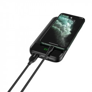 Cablu USB-C + USB - Lightning Baseus PD, 18W, 1m (negru)