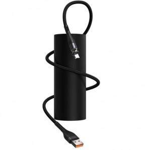 Cablu USB la Micro USB, magnetic Baseus Zinc 2.1A 1m (negru)