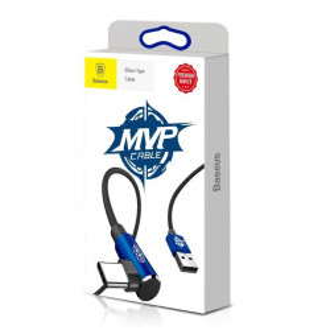 Cablu USB Type-C 90 grade Baseus MVP Elbow 2A 1m - albastru