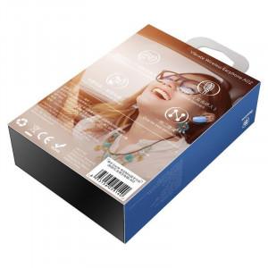 Casca wireless Bluetooth Baseus Encok mini A02 (albastru)