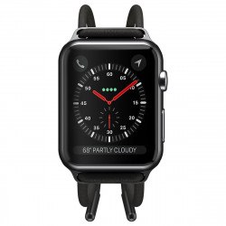 Curea Baseus Let's Go pt Apple Watch 3/4/5 38 mm / 40 mm (gri-galben)
