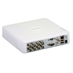 DVR 8 canale video 8MP, AUDIO HDTVI over coaxial - HIKVISION DS-7108HUHI-K1(S)