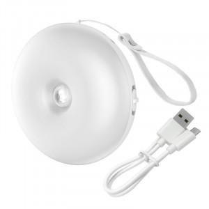 Lampa de veghe Baseus Light Garden Series cu senzor de miscare, cu acumulator (lumina alba)