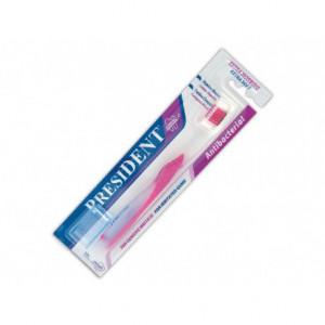Periuta de dinti President Antibacteriana cap de argint perii extra Soft