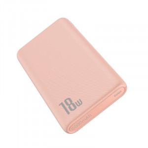 Powerbank Baseus Bipow, 10000mAh, QC 3.0, PD, 3A, 18W (roz)