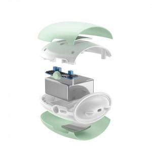 Powerbank cu lumina si functie de incalzire a mainilor Baseus Pocket Bear (verde)