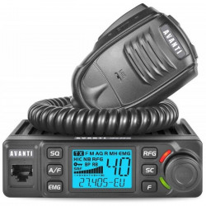 Promotie statie radio CB Avanti Delta + antena CB Avanti Carera