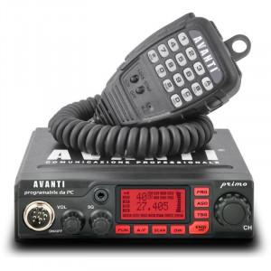 Promotie statie radio CB Avanti Primo + antena CB Sirio T3/27 + adaptor Sirio Mag-DV + suport