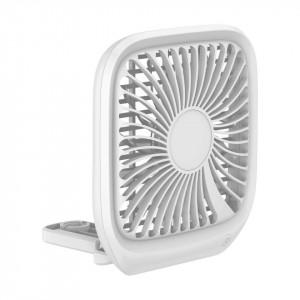 Ventilator auto Baseus Foldable pt tetiera (alb)