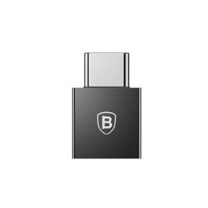 Adaptor USB la USB Type-C Baseus Exquisite, 2.4A, Negru