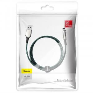 Cablu magnetic Lightning Baseus Zinc 2A 1m (verde)